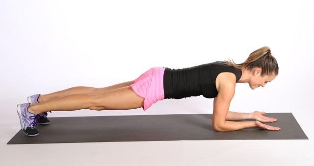 exercice de la planche