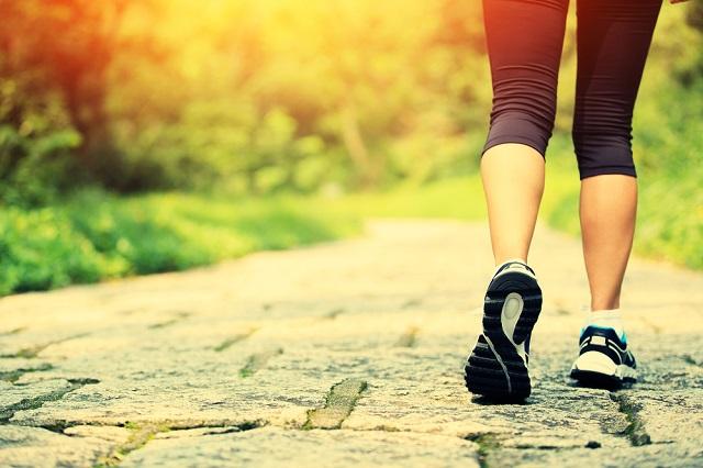 sport pour maigrir : la marche