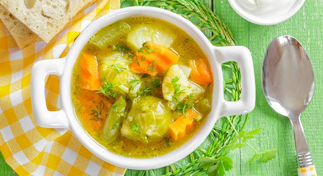 soupe au choux brule graisse
