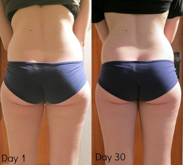 squat avant et après