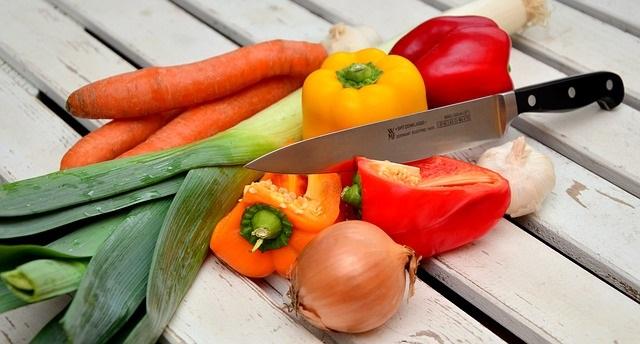 légumes dans un régime