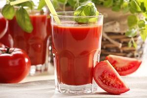 boisson pour maigrir à base de tomate