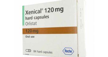 Xenical : 120 mg d'Orlistat dans chaque capsule