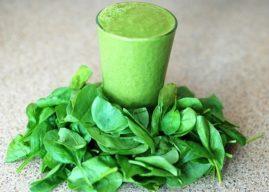 10 recettes de smoothies verts bons à la santé