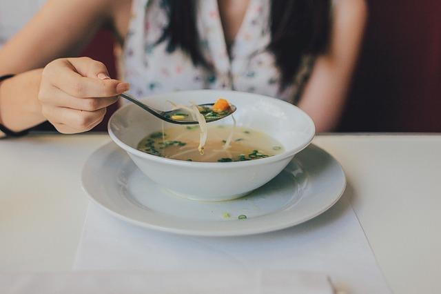 avantages de la diète à base de soupe