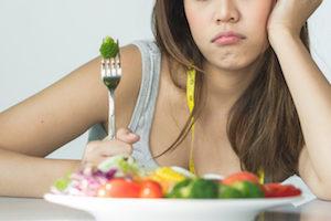 suivre un programme alimentaire draconien