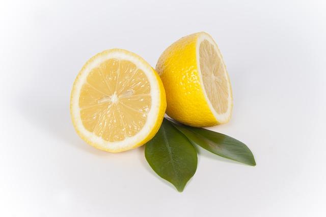 le citron comme coupe-faim