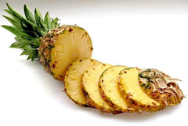 boisson minceur à l'ananas