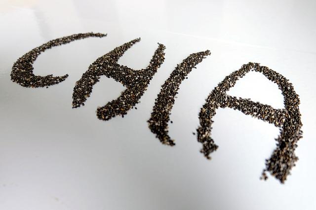 les graines de chia